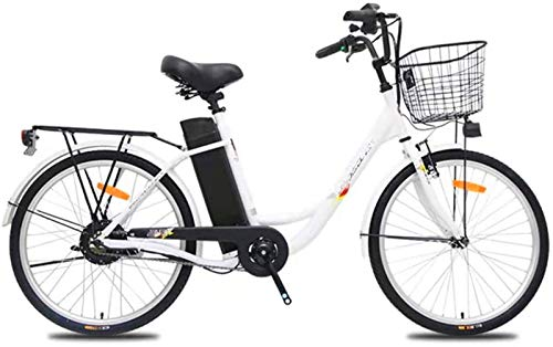 Fangfang Bicicletas Eléctricas, Adultos Ciudad de Bicicleta eléctrica, 250W de Motor sin...