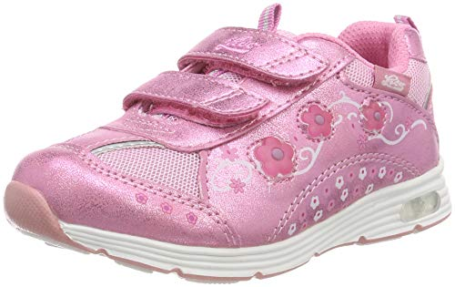 Lico Mädchen Floret V Blinky Sneaker, Pink (Rosa Rosa), 32 EU