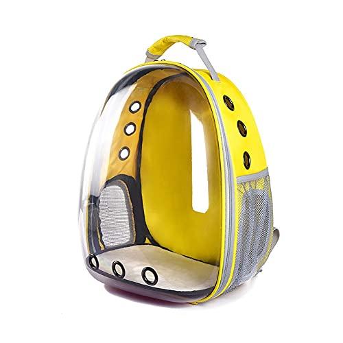 WUHUAROU Mochila para mascotas, tienda de campaña, jaula para mascotas, mochila portátil para gatos, mochila plegable multifunción para mascotas, bolsa de transporte para perros, cápsula espacial, hom