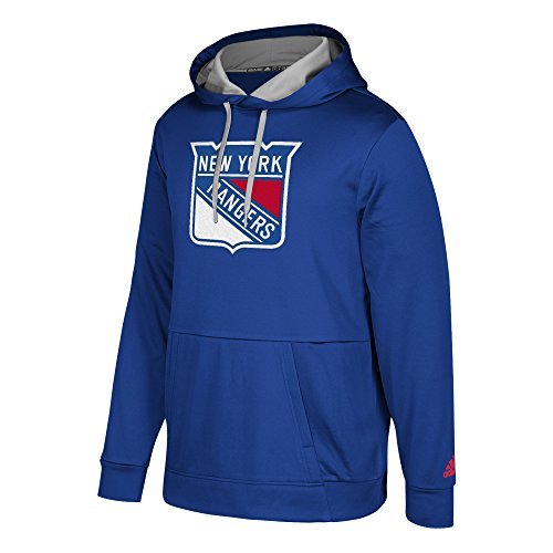 adidas NHL Hoodie Fleece, Größe:L, NHL Teams:New York Rangers