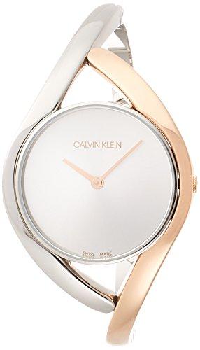 Calvin Klein analoog kwartshorloge met roestvrijstalen armband K8U2SB16