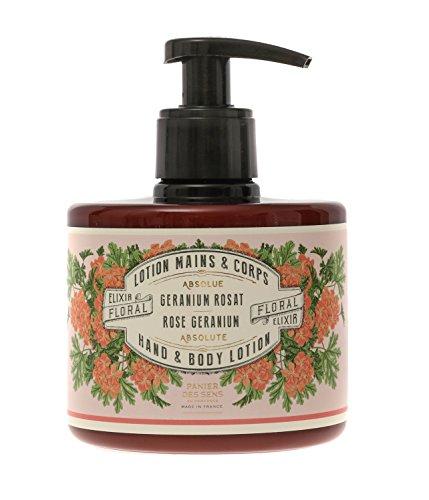 Panier des Sens Lotion pour les mains « Géranium rose » 300 ml