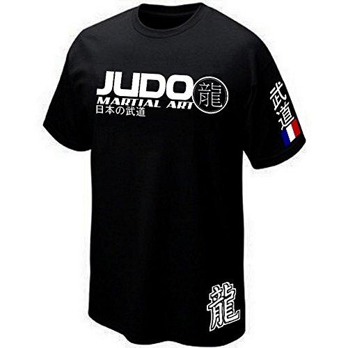 - Tee-Shirt Judo France - Martial Art - Sport Combat (M)