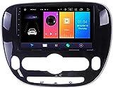 Android 9.1 di navigazione GPS per Kia Soul 2013-2018 - Dab auto + radio RDS FM, Internet wireless WiFi gratuito/BT, che supporta USB DSP chiama DVR/Handsfree,4 core,4G + WiFi, 1 + 16.