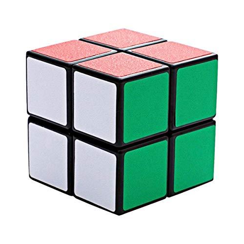 Cooja 2x2 Speedcube Rubix Cube, Zauber Würfel Geschwindigkeit Puzzle Brain Teasers Magic Cube Puzzle für Anfänger