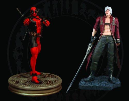 Deadpool vs Dante 1/4 Scale Statue Set