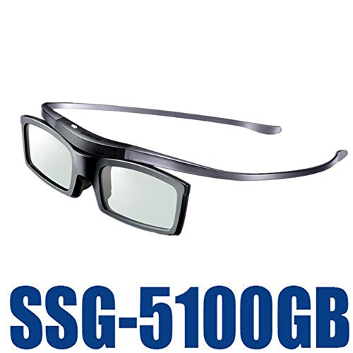 TYW Betrachtungs-3D Brille, Original-Ssg-5100GB 3D Bluetooth aktive Brillen Brillen für alle Samsung/Sony TV-Serie SSG5100 3D-Brille