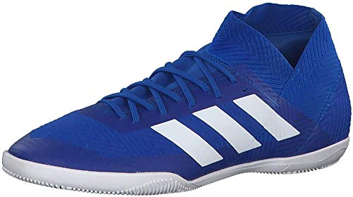 adidas Nemeziz Tango 18.3 in, Zapatillas de Fútbol Unisex Adulto, Azul (Football Blue/Footwear White/Football Blue 0), 43 1/3 EU