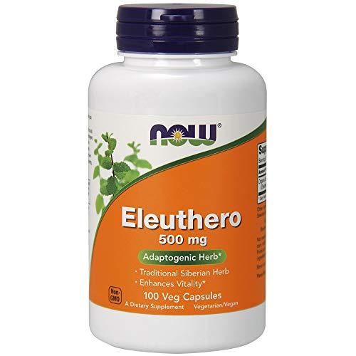 Now Foods Eleuthero Eleutherococcus senticosus 500mg 100 Kapseln