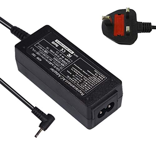 Laptop Power Adapter Universal Power Supply Adapter 19V 2.1A 40W 2.5x0.7mm Charger for Asus N17908 / V85 / R33030 / EXA0901 / XH Laptop With AC Cable, EU Plug Laptop Power Adapter (Color : Color4)