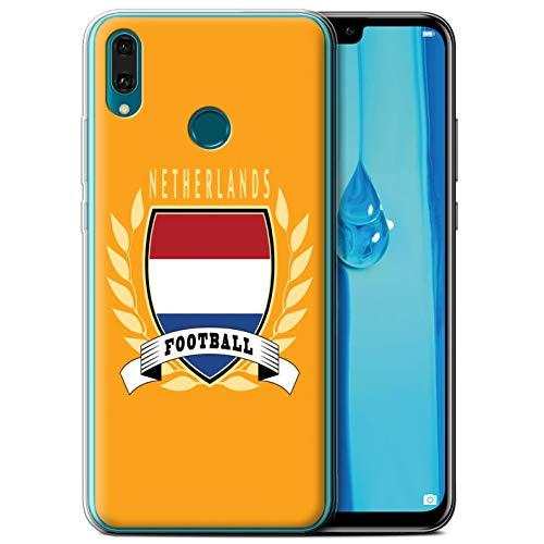eSwish telefoonhoesje/Cover/Skin/HUA-GC/Voetbal Embleem Collectie Huawei Y9 2019 Netherlands/Dutch