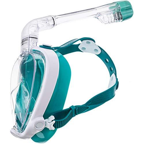 Aqua Lung SMART Snorkel TAUCHMASKE Schnorchelset türkis M