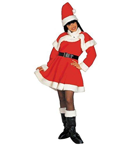 Abito Natalizio Donna Babbo Natale Lusso PS 25830 Miss Santa