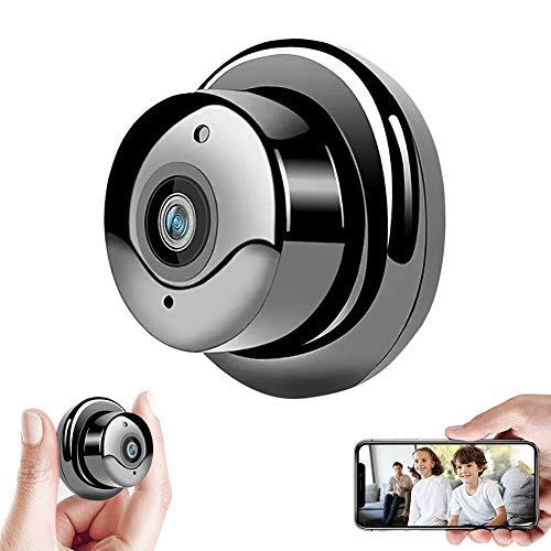 Cámara Con Visión Nocturna Cámara espía, Mini Camara Espia 2mp 1080p Wifi Inalámbric,con Visión Nocturna Detección de Movimiento...
