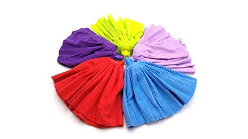 elegi. Pack 3 Fregonas Microfibra. 3 Colores. Especial Confeccion 1 Pieza