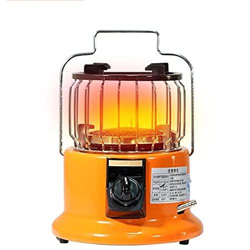 Calentador de campamento portátil 2 en 1, estufa de gas para campamento al aire libre Calentador de tienda de campaña con manto calefactor, para garaje, cocina, pesca en hielo, 3000 W,Liquefied Gas