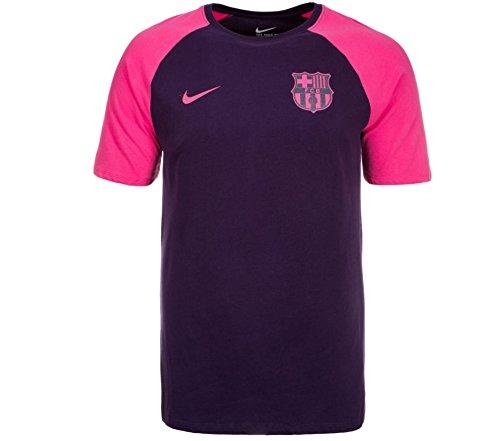 NIKE FC Barcelona Match tee Camiseta de Manga Corta, Hombre, Morado (Purple...