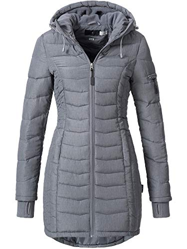 Sublevel Damen Mantel, Grau (middle grey), Gr. XS