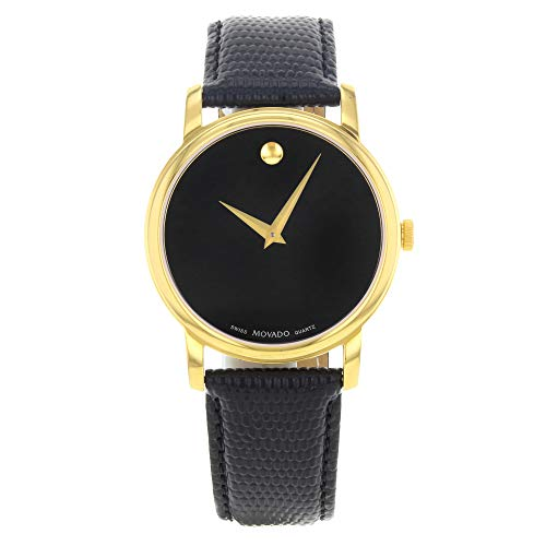 Movado Men's 2100005 Museum Gold Classic Leather Watch