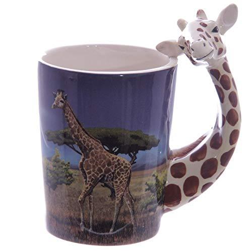 Puckator SMUG22 Kaffeebecher Giraffe, 8x12x14,5cm
