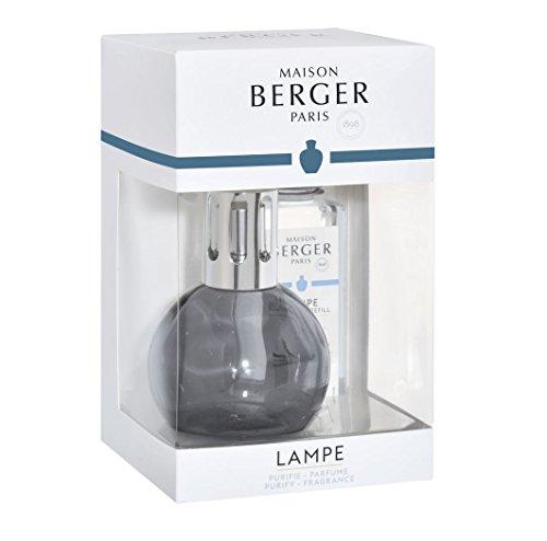 Lampe Berger Set Duftlampe Bingo Grise / Grau + Duft Caresse de Cotton / Zarte Baumwollblüte 180 ml
