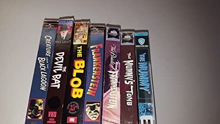 7 Volumes of Classic Monster Movies- Creature from the Black Lagoon; Devil Bat; The Blob; Frankenstein; The Bride of Frankenstein; The Mummy; The Mummy's Tomb