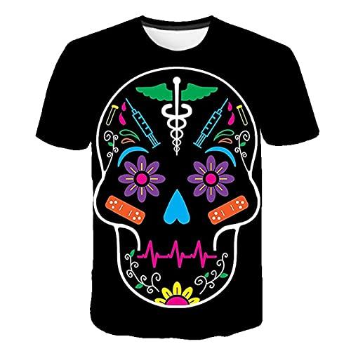 SSBZYES Camisetas De Verano para Hombre Camisetas De Gran Tamaño para Hombre Camisetas De Pareja Camisetas Deportivas De Manga Corta para Hombre Camisetas De Moda para Hombre