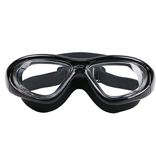 IUANUG Gafas De Natación Marco Grande Impermeable Anti-Niebla Buceo Hombre Adulto Anti-Niebla Gafas De Piscina Impermeable Anti-UV