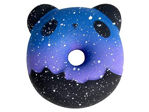 Alsino Squishies Squishy Anti Stress Squishie Knautschi Squeeze Spielzeug Slow Rising zum Drücken Stressabbau Kinder & Erwachsene, Variante wählen:SQ-263 Donut Bär Galaxy