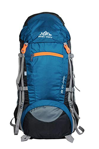 Mount Track Gear up Rucksack, Hiking Backpack 50 litres with rain Cover