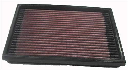 K&N 33-2098 Motorluftfilter: Hochleistung, Prämie, Abwaschbar, Ersatzfilter, Erhöhte Leistung, 1988-2002, Barina, Combo, B, Tigra, Corsa Mk, Cavalier MK3
