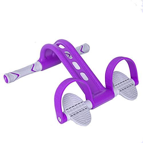 Band ziehen Xingdong Pedal Rally Sit-ups Hilfe Home Fitness Frauen Thin Magen Yoga elastisches Seil Weight Loss Artifact dauerhaft (Color : Blue)