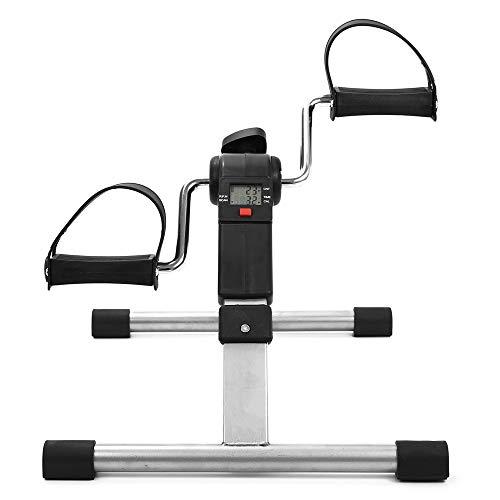 fdfd Paso Pasador Plegable, Bicicleta Plegable para Interiores en el hogar, Equipo de Entrenamiento en el hogar, con Pantalla Digital LED, el Mejor Equipo para la Aptitud y la rehabilitación