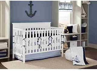Bacati - Little Sailor 10 pc crib bedding for Boys 100 percent cotton
