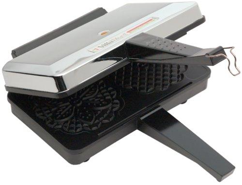 New VillaWare V5000-NS Prima Pizzelle Baker Non-stick