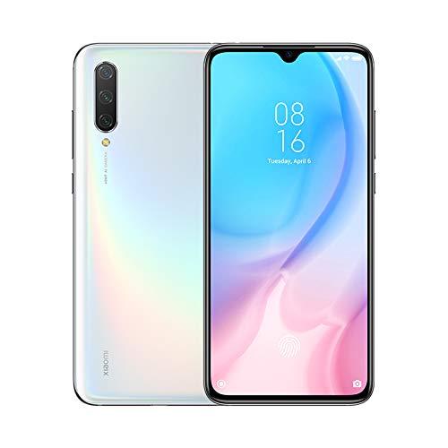 """Xiaomi Mi 9 Lite – Smartphone con pantalla AMOLED FullHD de 6,39"""" (Qualcomm SD710 2.2GHz, triple cámara de 48 + 8 + 2 MP y selfie de 32MP, NFC, 4030 mAh, 6GB+64GB)color blanco perla [Versión española]"""