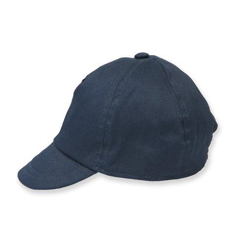 Larkwook - gorra unisex para bebes - Verano/Piscina/Playa (6-12 meses) (Azul marino)