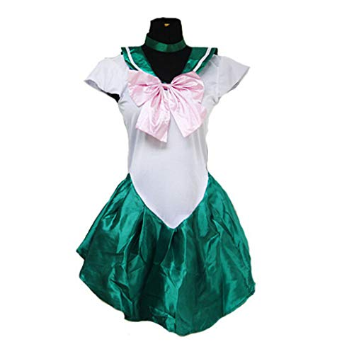 Baipin Disfraz De Sailor Moon Anime Cosplay, Verde...