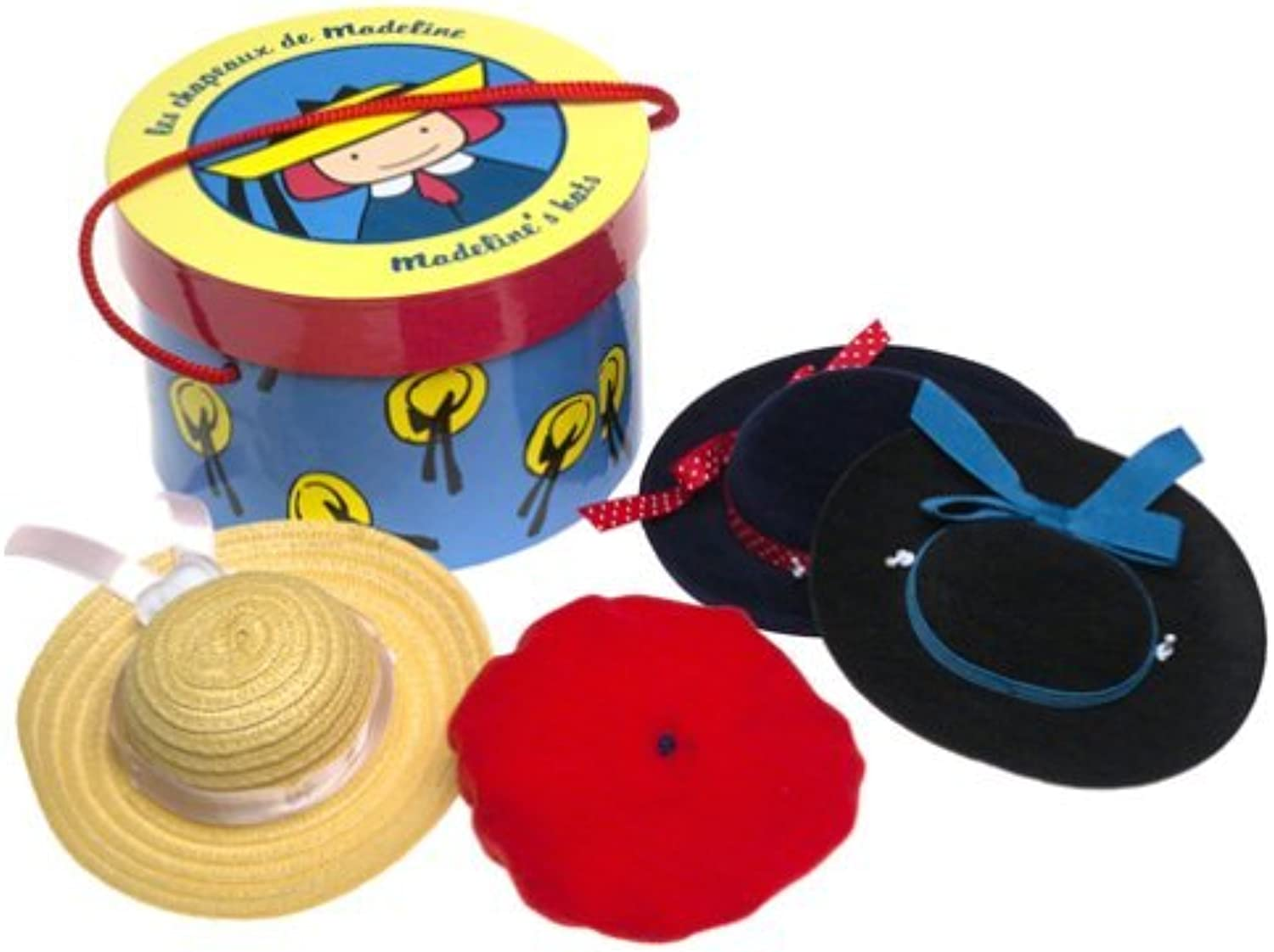 Madeline Hat Box with Four Hats by Learning Curve