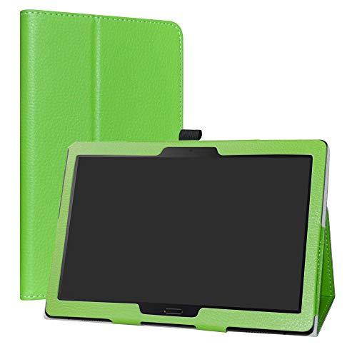 Lenovo Smart Tab P10 / M10 hülle,LiuShan Folding PU Leder Tasche Hülle Hülle mit Ständer für 10.1