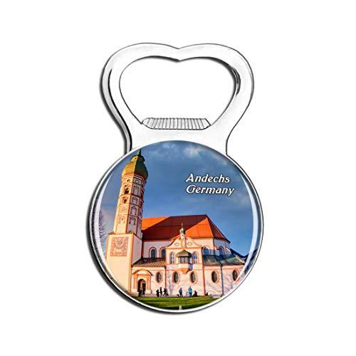 Weekino Andechs Kirche Deutschland Bier Flaschenöffner Kühlschrank Magnet Metall Souvenir Reise Gift