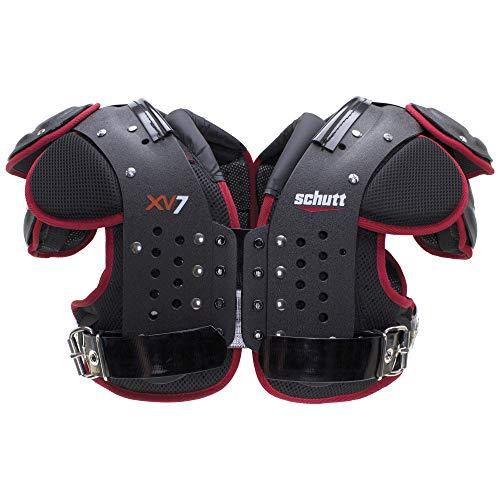 Schutt Sports XV7 Varsity Football Shoulder Pads, Large, All Purpose