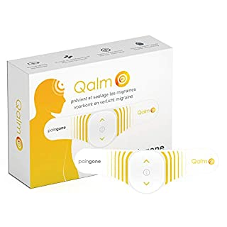 Paingone Qalm - Switch Off Migraine Pain | Class 2A Medical Device Specially Designed for Migraine Pain Prevention/Relief (B08C449ZT9) | Amazon price tracker / tracking, Amazon price history charts, Amazon price watches, Amazon price drop alerts