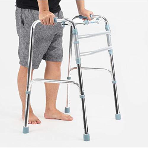 Lichtgewicht Walking Frame,Folding Zimmer Walker,Rollator,Walking Aids,Adjustable Height,Geschikt voor Ouderen Outdoor Gebruik