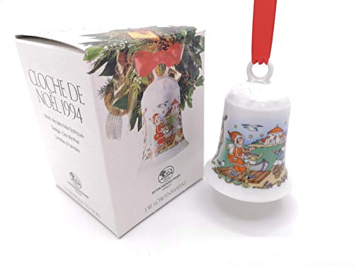 Hutschenreuther Weihnachtsglocke 1994*Rarität, Porzellanglocke, Weihnachten, Anhänger, Baumanhänger, Baumschmuck