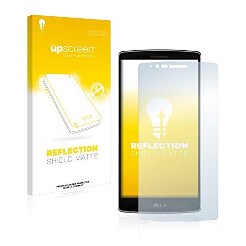 upscreen Entspiegelungs-Schutzfolie kompatibel mit LG G Flex 2 – Anti-Reflex Bildschirmschutz-Folie Matt