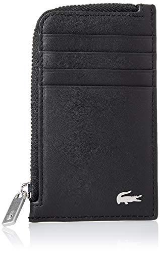 Lacoste NH1992FG, Accessoire de Voyage-Porte-Cartes en enveloppe Homme, Noir, Taille Unique