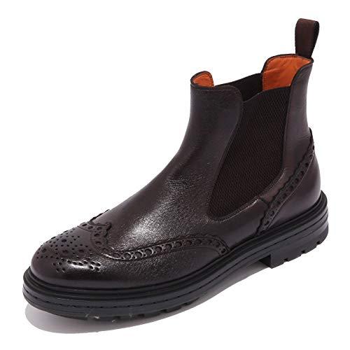 Santoni 5248AB Beatles Uomo Brown Shaded Boot Shoe Men [8.5]