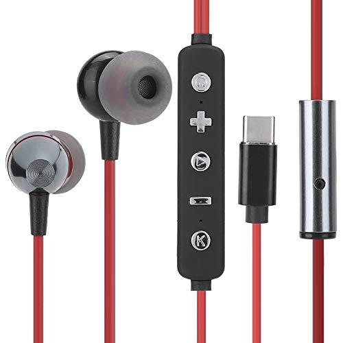 Bedrade headset Volledig digitale geluidskaart Oortelefoon Type-C in-ear stereo Bedrade headset Hoofdtelefoonapparatuur…
