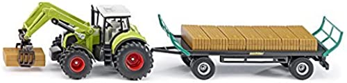 comprar descuentos Siku 1 50 Tractor With With With Bale Grab & Trailer Model by Siku  garantizado